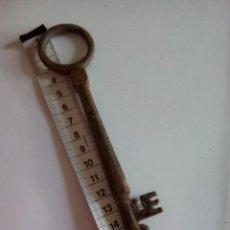 Antigüedades: * LLAVE 18,5 CM. FORJA .S.XIX. (RF:2770-6 /B). Lote 137216966