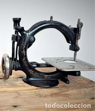 Antiquitäten: Máquina de coser - Willcox & Gibbs, U.S.A, ca.1880 - Hierro (fundido/forjado) - Foto 3 - 116583651