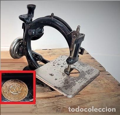 Antiquitäten: Máquina de coser - Willcox & Gibbs, U.S.A, ca.1880 - Hierro (fundido/forjado) - Foto 4 - 116583651