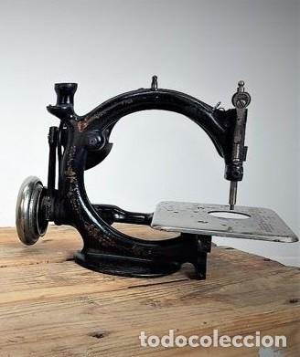 Antiquitäten: Máquina de coser - Willcox & Gibbs, U.S.A, ca.1880 - Hierro (fundido/forjado) - Foto 6 - 116583651