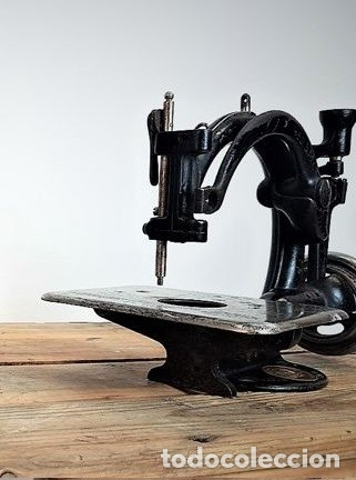 Antiquitäten: Máquina de coser - Willcox & Gibbs, U.S.A, ca.1880 - Hierro (fundido/forjado) - Foto 7 - 116583651