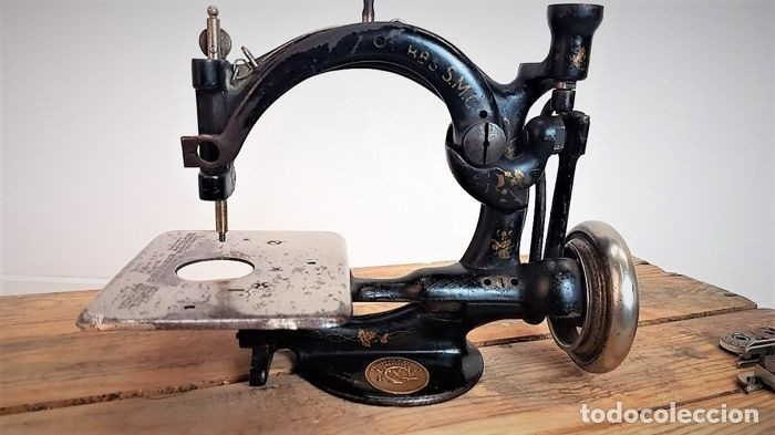 Antiquitäten: Máquina de coser - Willcox & Gibbs, U.S.A, ca.1880 - Hierro (fundido/forjado) - Foto 13 - 116583651
