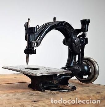 Antiquitäten: Máquina de coser - Willcox & Gibbs, U.S.A, ca.1880 - Hierro (fundido/forjado) - Foto 16 - 116583651