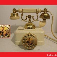 Teléfonos: TELEFONO ANTIGUO ESPAÑOL SOBREMESA, FUNCIONANDO- 100% ORIGINAL.. Lote 137242262