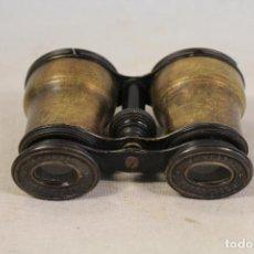 Antigüedades: PRISMATICOS ANTIGUOS DE LATON JUMELLE ELLIPTIQUE. Lote 137275230