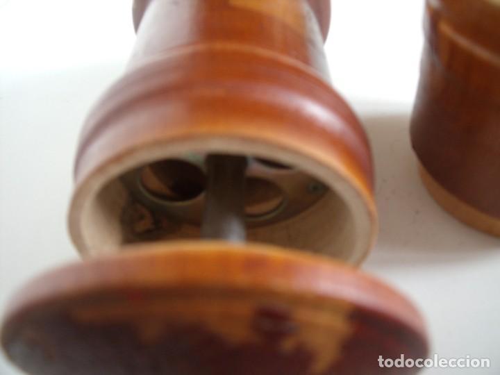 Antigüedades: MOLINILLO DE CAFÉ CILÍNDRICO DE ESTILO ITALIANO, REALIZADO EN MADERA Y METAL. ALEMANIA 1950/60 - Foto 8 - 137309054