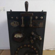 Antigüedades: ANTIGUO CUADRO ELECTRICO, ELEVADOR-REDUCTOR. Lote 137326081