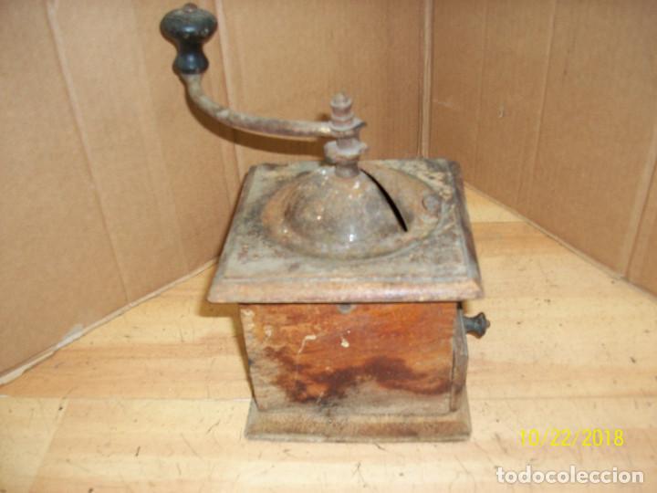Antigüedades: ANTIGUO MOLINILLO ELMA-DE MADERA-COMPLETO - Foto 5 - 137344534