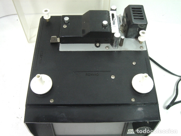 Antigüedades: ANTIGUO VISOR-SUPER 8MM MAREXAR MR-303 - ELECTRICO 220V -JAPAN AÑOS 70- PROYECTOR EDITOR 8 MM MR303 - Foto 3 - 137348750