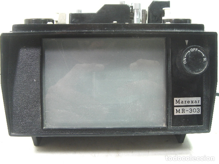 Antigüedades: ANTIGUO VISOR-SUPER 8MM MAREXAR MR-303 - ELECTRICO 220V -JAPAN AÑOS 70- PROYECTOR EDITOR 8 MM MR303 - Foto 4 - 137348750