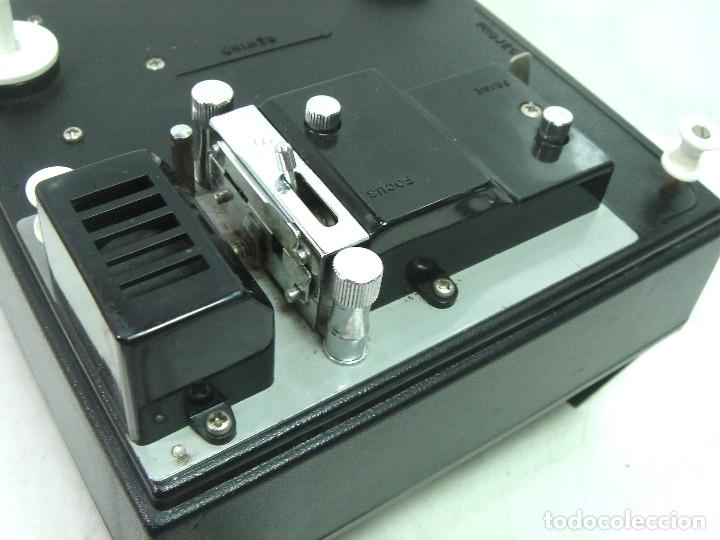Antigüedades: ANTIGUO VISOR-SUPER 8MM MAREXAR MR-303 - ELECTRICO 220V -JAPAN AÑOS 70- PROYECTOR EDITOR 8 MM MR303 - Foto 5 - 137348750