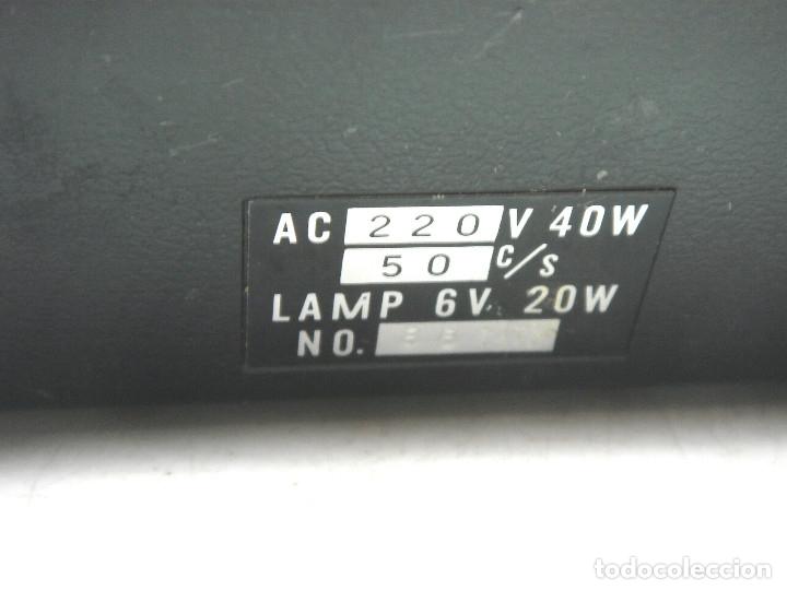 Antigüedades: ANTIGUO VISOR-SUPER 8MM MAREXAR MR-303 - ELECTRICO 220V -JAPAN AÑOS 70- PROYECTOR EDITOR 8 MM MR303 - Foto 7 - 137348750