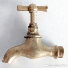 Antigüedades: GRIFO ANTIGUO DE METAL. Lote 137402534