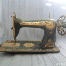 Antigüedades: MÁQUINA DE COSER ANTIGUA SINGER - Nº DE SERIE C 197939 - FABRICADA EN WITTENBERGE (PRUSSIA) EN 1908. Lote 182784616