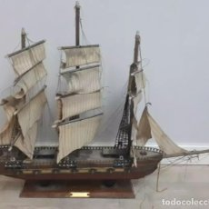 Antigüedades: ANTIGUA MAQUETA BARCO CLIPPER SIGLO XIX. Lote 137449186