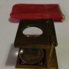 Antigüedades: ANTIGUA LUPA PLEGABLE,MARCA ADUSA.. Lote 137535530