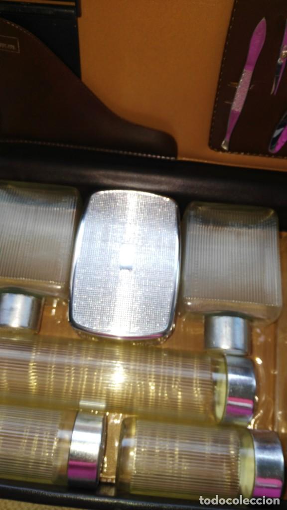 Antigüedades: Estuche de viaje barbería - Foto 4 - 137643934