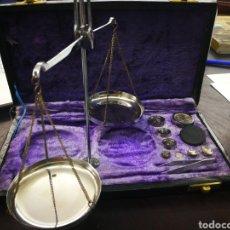 Antigüedades: BALANZA DE ACERO INOXIDABLE.. Lote 137812406