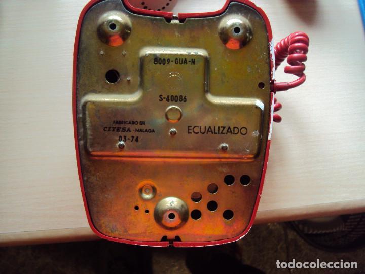 Teléfonos: impresionante TEleFONO ANTIGUO original 2 - Foto 6 - 137874246