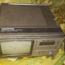 Antigüedades: ANTIGUA TELEVISIÓN PORTÁTIL VANGUARD FUNCIONANDO. Lote 137883597