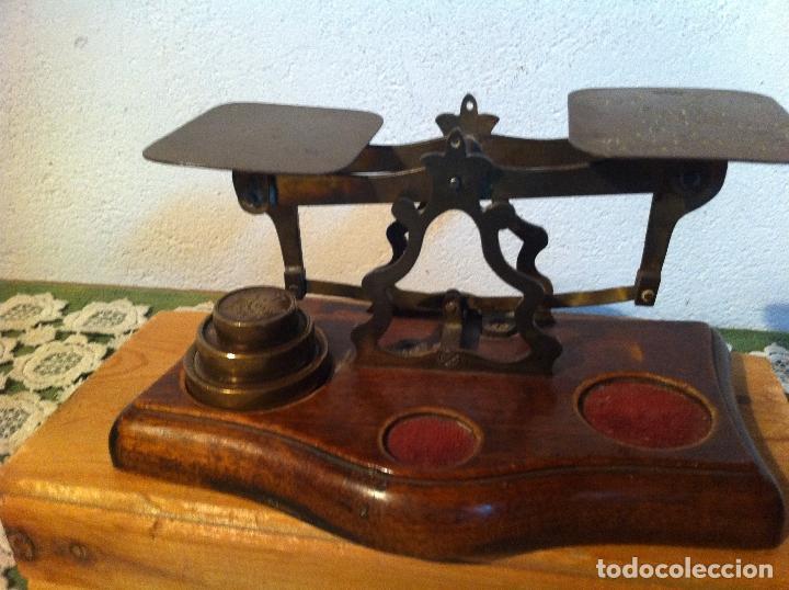Antigüedades: OTRA JOYA DE BALANZA VICTORIANA MARCA AVERY DEL 1844 CON SUS PESAS (BP AVERY 2) - Foto 3 - 138073990