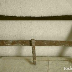 Antigüedades: SIERRA DE CARPINTERO DE MADERA - SIERRA SAN JOSE - MUY ANTIGUA - PROCEDENCIA SORIA - EBANISTA. Lote 138182194