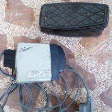 Antigüedades: MOTOR Y PEDAL MAQUINA DE COSER. Lote 138680586
