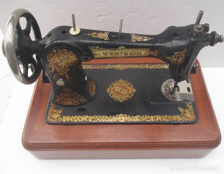 ANTIGUA MAQUINA DE COSER WERTHEIM RAPIDA (Antigüedades - Técnicas - Máquinas de Coser Antiguas - Wertheim )