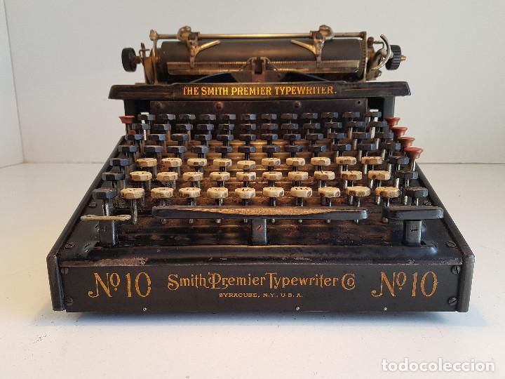 Antigüedades: Maquina de escribir Smith Premier, USA, modelo 10A, año 1.909, funcionando ! - Foto 2 - 138754582