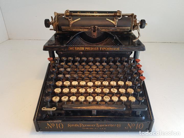 Antigüedades: Maquina de escribir Smith Premier, USA, modelo 10A, año 1.909, funcionando ! - Foto 4 - 138754582