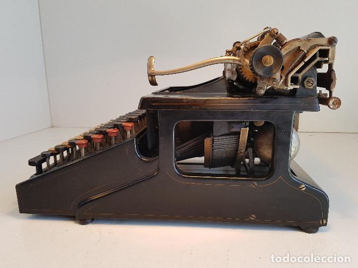 Antigüedades: Maquina de escribir Smith Premier, USA, modelo 10A, año 1.909, funcionando ! - Foto 5 - 138754582