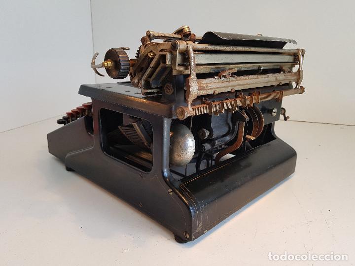Antigüedades: Maquina de escribir Smith Premier, USA, modelo 10A, año 1.909, funcionando ! - Foto 6 - 138754582
