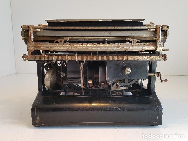 Antigüedades: Maquina de escribir Smith Premier, USA, modelo 10A, año 1.909, funcionando ! - Foto 7 - 138754582