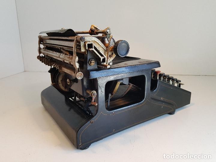 Antigüedades: Maquina de escribir Smith Premier, USA, modelo 10A, año 1.909, funcionando ! - Foto 8 - 138754582