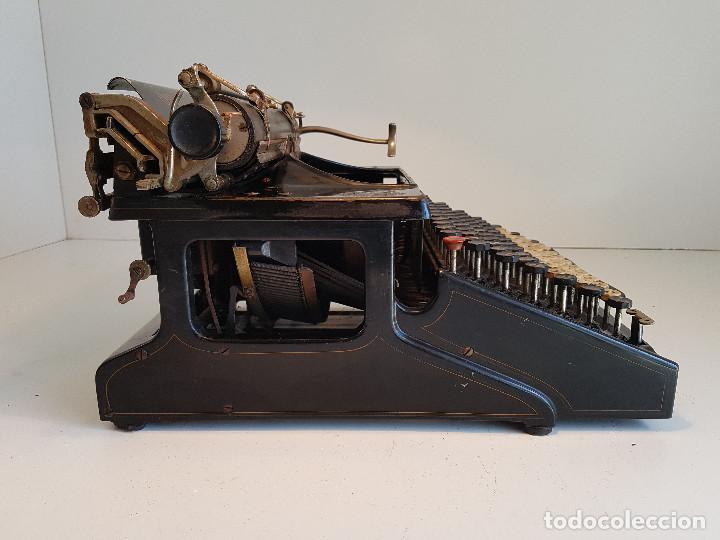 Antigüedades: Maquina de escribir Smith Premier, USA, modelo 10A, año 1.909, funcionando ! - Foto 9 - 138754582