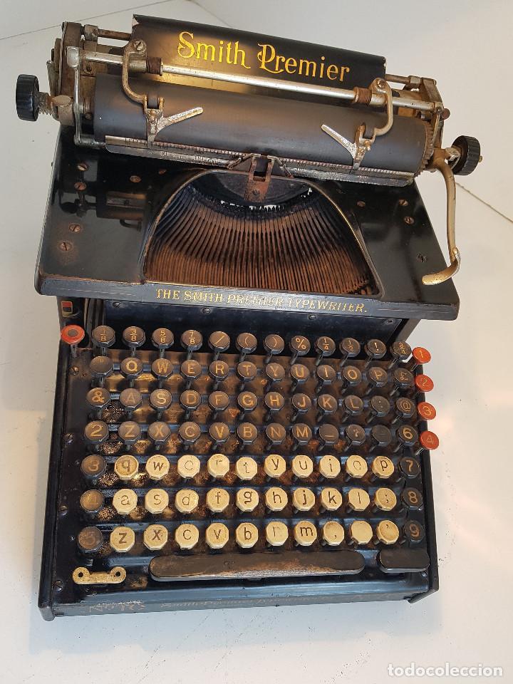 Antigüedades: Maquina de escribir Smith Premier, USA, modelo 10A, año 1.909, funcionando ! - Foto 10 - 138754582