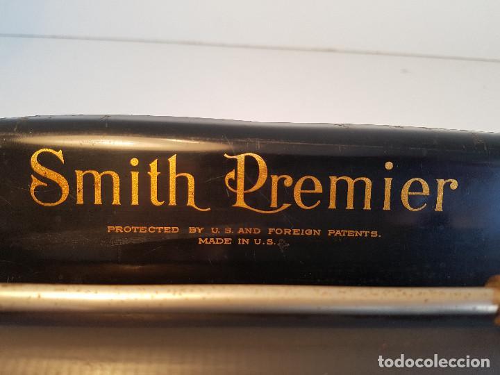 Antigüedades: Maquina de escribir Smith Premier, USA, modelo 10A, año 1.909, funcionando ! - Foto 11 - 138754582