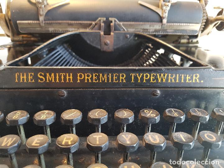 Antigüedades: Maquina de escribir Smith Premier, USA, modelo 10A, año 1.909, funcionando ! - Foto 12 - 138754582