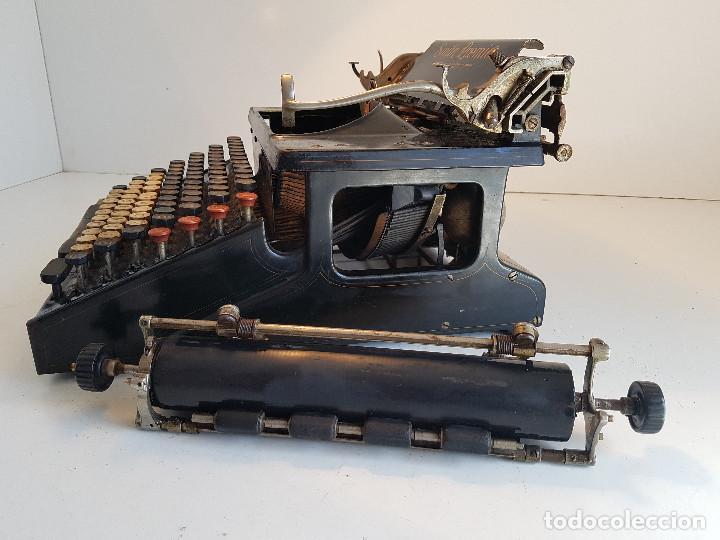 Antigüedades: Maquina de escribir Smith Premier, USA, modelo 10A, año 1.909, funcionando ! - Foto 17 - 138754582