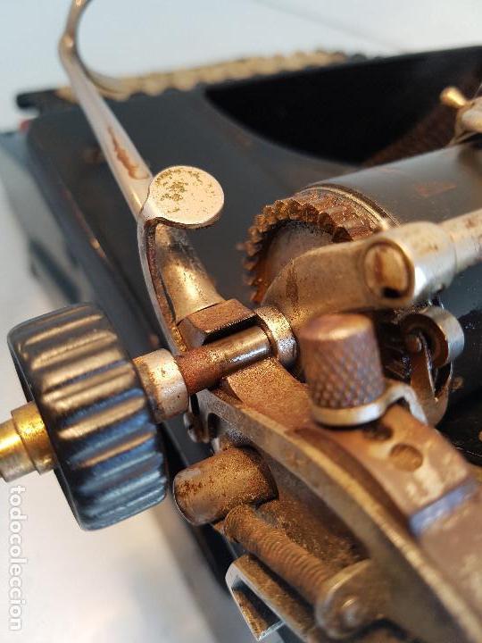 Antigüedades: Maquina de escribir Smith Premier, USA, modelo 10A, año 1.909, funcionando ! - Foto 18 - 138754582