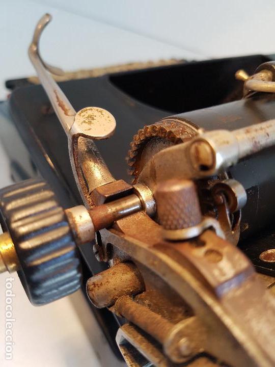 Antigüedades: Maquina de escribir Smith Premier, USA, modelo 10A, año 1.909, funcionando ! - Foto 19 - 138754582