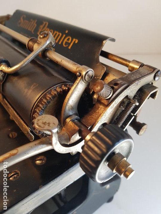 Antigüedades: Maquina de escribir Smith Premier, USA, modelo 10A, año 1.909, funcionando ! - Foto 20 - 138754582