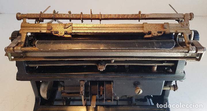 Antigüedades: Maquina de escribir Smith Premier, USA, modelo 10A, año 1.909, funcionando ! - Foto 21 - 138754582