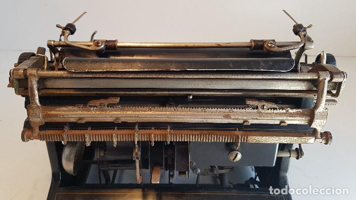 Antigüedades: Maquina de escribir Smith Premier, USA, modelo 10A, año 1.909, funcionando ! - Foto 22 - 138754582