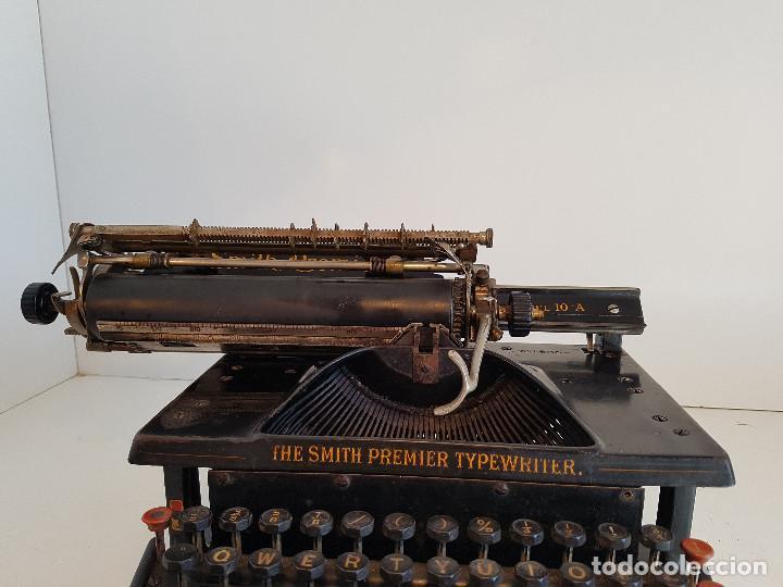 Antigüedades: Maquina de escribir Smith Premier, USA, modelo 10A, año 1.909, funcionando ! - Foto 24 - 138754582