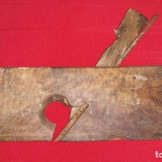 Antiquités: CEPILLO DE CARPINTERO. Lote 138794806
