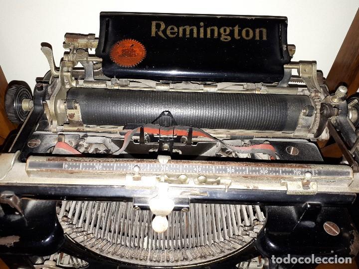 Antigüedades: Antigua Máquina de Escribir Remington. - Foto 2 - 138799110