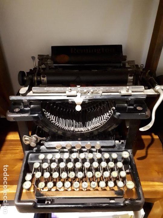 Antigüedades: Antigua Máquina de Escribir Remington. - Foto 4 - 138799110