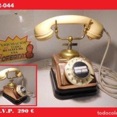 Teléfonos: TELÉFONO DANES DE SOBREMESA (AÑOS 40) -FUNCIONANDO- SE ENVÍA EL DE LA FOTO .(VER VÍDEO ). Lote 138923030
