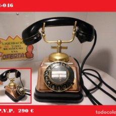 Teléfonos: TELÉFONO DANES DE SOBREMESA (AÑOS 40) -FUNCIONANDO- SE ENVÍA EL DE LA FOTO .(VER VÍDEO ). Lote 138923062